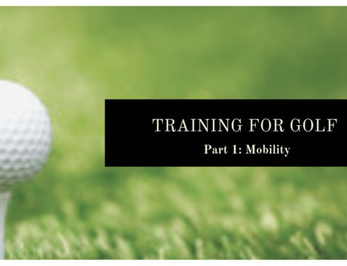 Training for Golf – Part 1