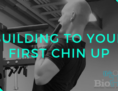 Building to Your First Chin Up