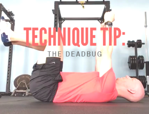 Technique Tip: the Deadbug