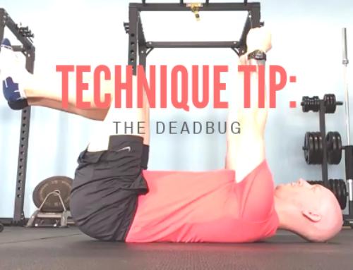 Technique Tip: the Deadbug